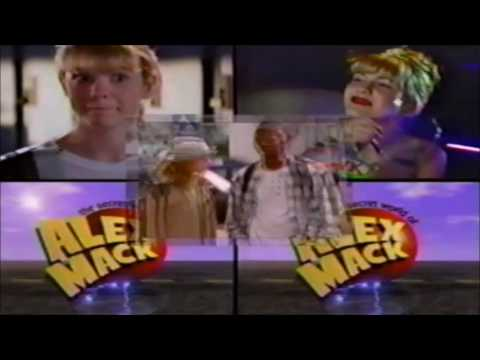 The Secret World of Alex Mack Nickelodeon Commercial 1998