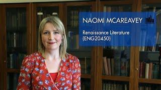 Renaissance Literature (ENG20450) - Naomi McAreavey