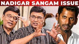 Vishal uh எதிர்க்கிறேனா? - K Bhagyaraj Opens up | Nadigar Sangam Election | RS 200