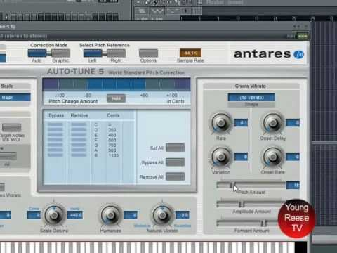 how to use autotune in fl studio 12