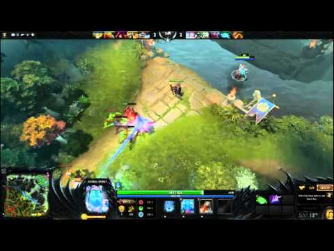 bugged courier Dota 2 reborn with Lolmazter