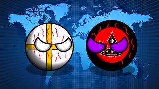 COUNTRYBALLS   Новая История   1 сезон 8 серия   Финал   Великая Война