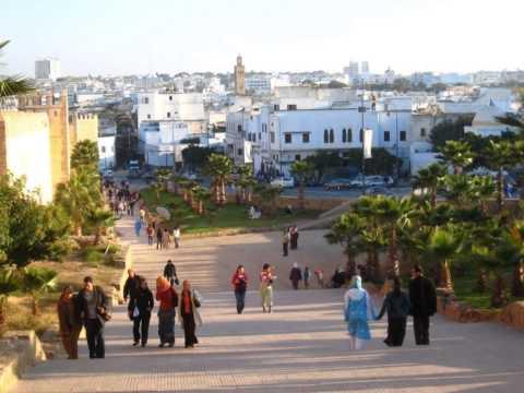 Ballade dans la ville de Rabat Maroc