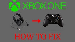 How to Fix Microphone/Headset on Xbox One