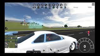 Nissan Skyline gtr R34 (Roblox test drive video)