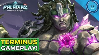 PALADINS TERMINUS GAMEPLAY - PTS! (New Champion Melee Frontline)