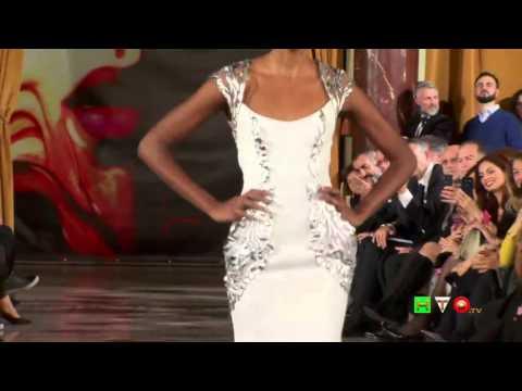 World of Fashion - Sfilata della collezione di Jamal Taslaq - www.HTO.tv