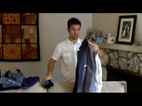 how to pack a suit for travel youtube