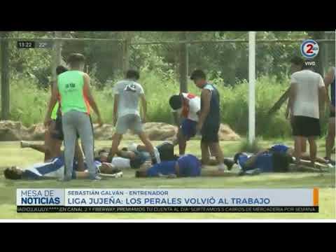 19-2-20 - Liga jujeña, Los Perales volvió al trabajo - Sebastián Galván, Entrenador