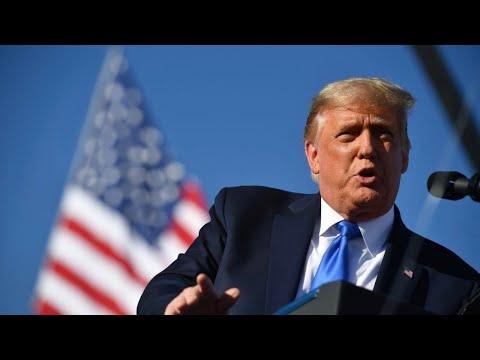 President Trump campaigns in Prescott, Arizona