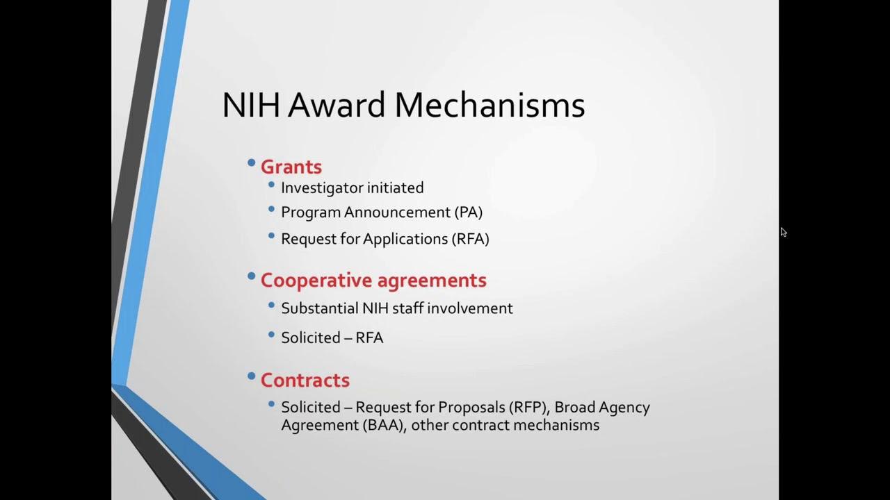 Webinar | Grant Writing for Success: Preparing a NIH Grant