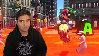 I did the Jump Rope Challenge COVERED IN LAVA!