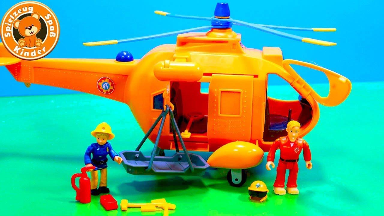 Feuerwehrmann Sam Hubschrauber 🚨🚁 Helikopter Wallaby