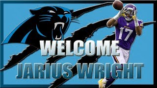 CAROLINA PANTHERS SIGN JARIUS WRIGHT!!! DID WE GET A STEAL?? 2017 Video