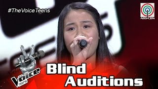 The Voice Teens Philippines Blind Audition: Arixsandra Libantino - Million Reasons