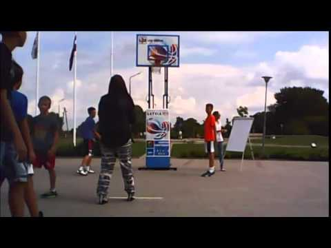 Free throw Grobiņa