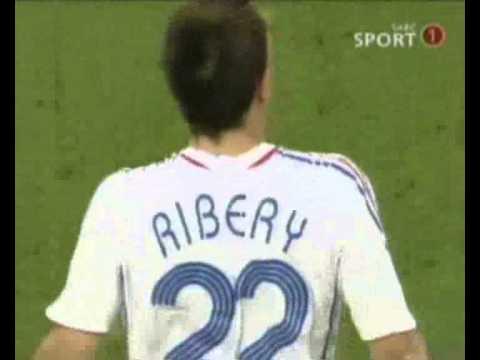 Franck Ribery Goal World Cup 2006 France vs Spain Vieira Assist