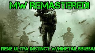 Call Of Duty Modern Warfare Remastered! | w/NineTailsBubba!