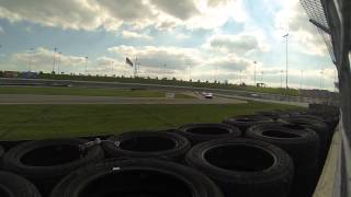 Continental Tire Sports Car Challenge Kansas speedway full yellow
