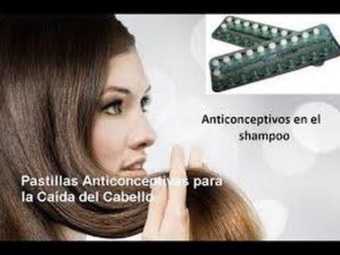 caida de pelo por pastillas anticonceptivas