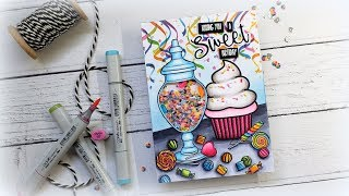 Shaker Candy Jar One Layer Scene: Mystery Boxes and My Car Accident