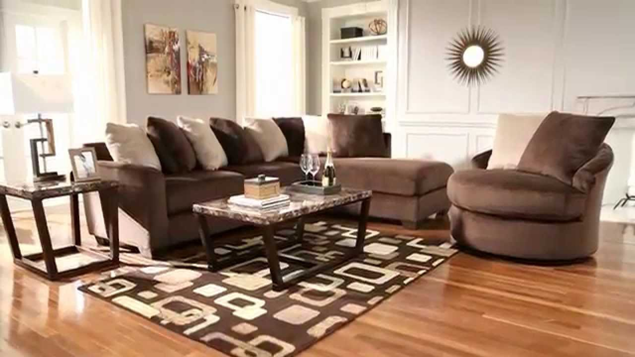 Ashley Furniture Homestore Dahlen Chocolate Youtube