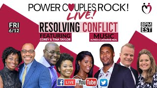 Resolving Conflict - Featuring Corey & Tina Taylor + Musical Guests Alfred & Catherine Neal