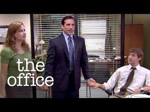 The Moment Jim & Pam Went Public with Their Relationship - The Office US