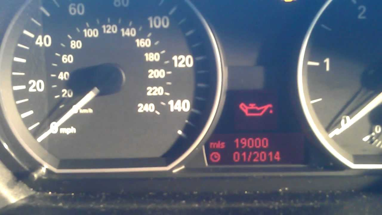 How To Reset Service Light Indicator On A Bmw 118d 2007