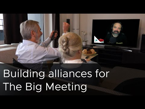 Tanzu Talk: Build alliances for The Big Meeting