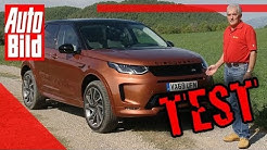 Land Rover Discovery Sport Facelift (2019): Auto - Test - Fahrbericht - SUV