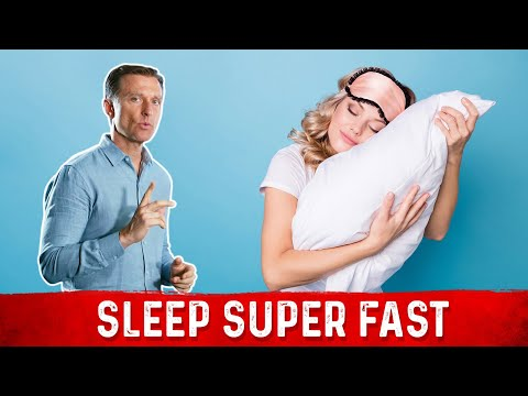 How to Sleep Super Fast - MUST WATCH!