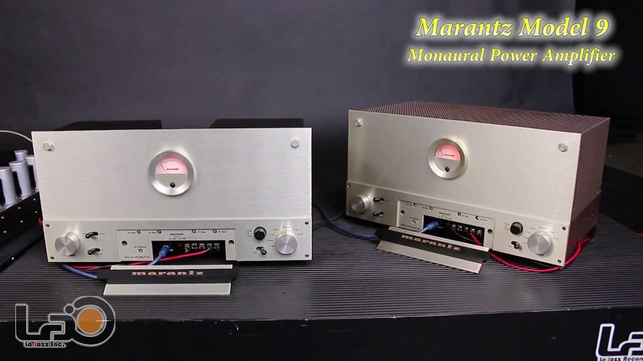 Marantz 9 Power Amplifiers