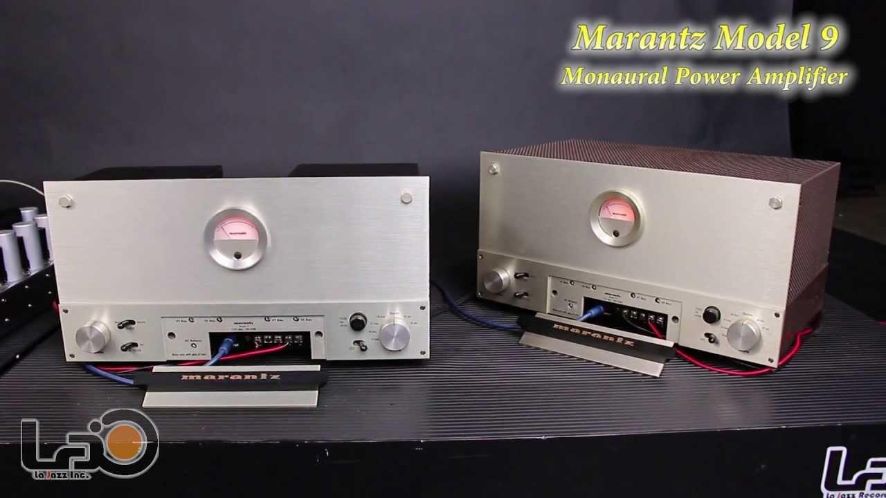 Marantz 9 Power Amplifiers