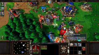 1 Orc Vs 3 Random Insane Computer Ai In Warcraft 3 Frozen Throne On Twisted Mead