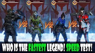 WHO'S ABILITY MAKES THEM THE FASTEST IN APEX LEGENDS! MYTH BUSTING!