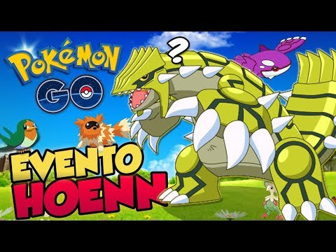 GROUDON E KYOGRE VOLTARAM! NOVOS SHINIES E MAIS! EVENTO HOENN!   Pokémon Go |  PokeNews thumbnail