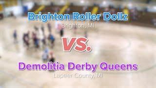 Brighton Roller Dollz vs. Demolitia Derby Queens