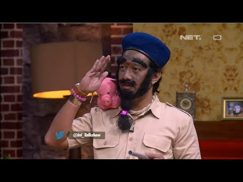 The Best Of Ini Talkshow - Lucunya Andre Jadi Polisi India