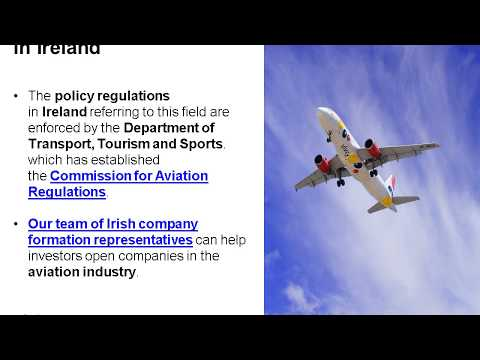 Open a Company in the Aviation Sector in Ireland