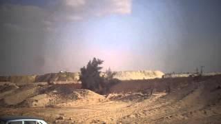 فيديو حصرى جبال رمال حفر القناة بطول عمليات الحفر يناير2015