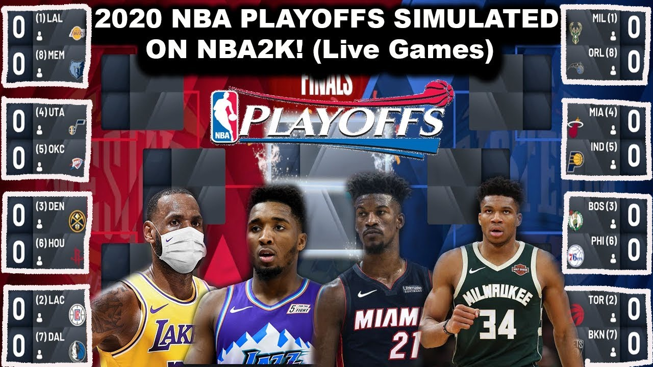 Starting The 2020 Nba Playoffs Today Simulation On Nba2k Due To Coronavirus Suspension Youtube