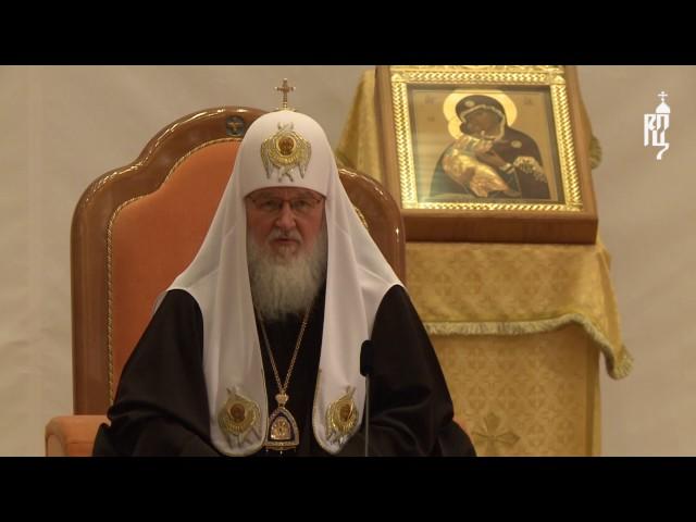 """Патриарх Кирилл: """"Меньше всего, планируя свои поездки, свою работу, думаю о реакции на фотографии"""""""