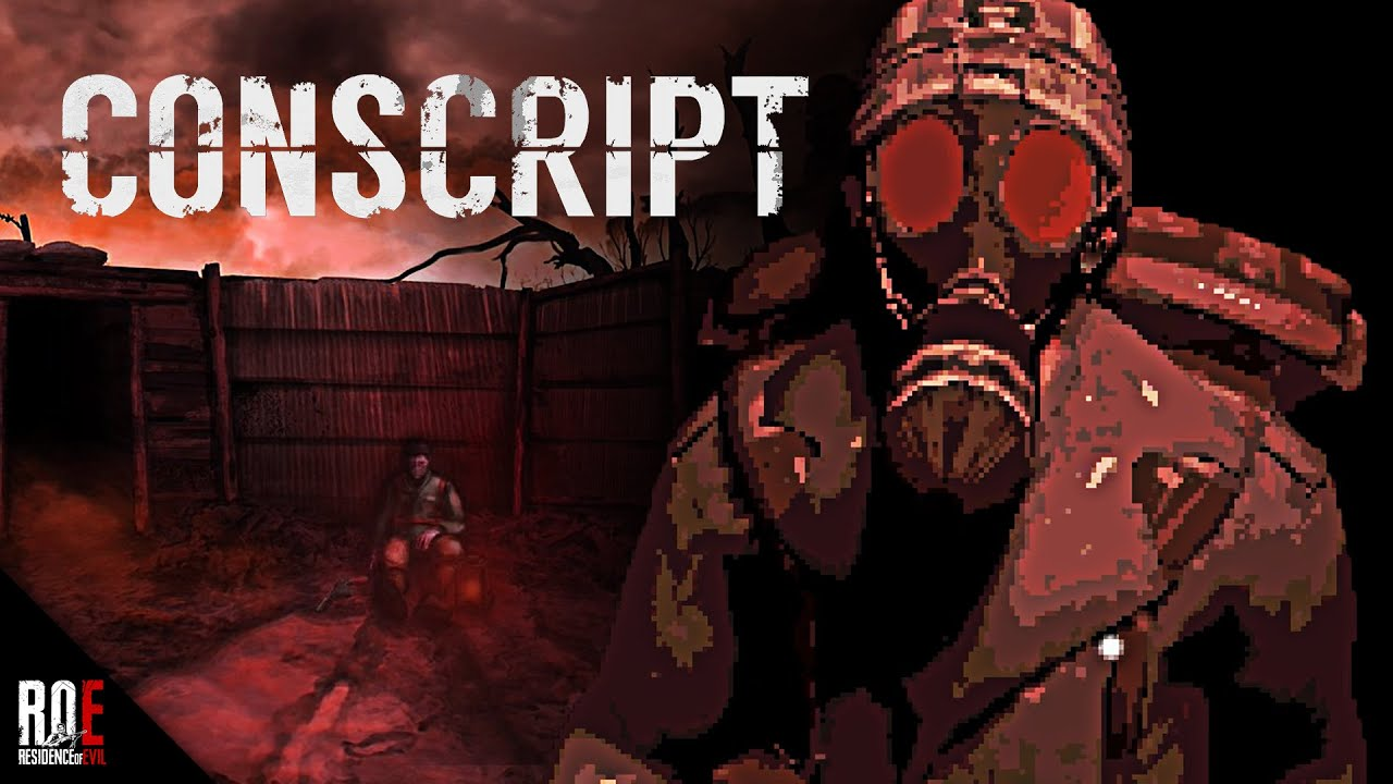 CONSCRIPT || NEW Resident Evil Inspired Game Set In WWI | FULL DEMO