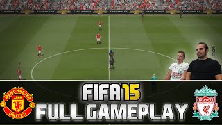 Fifa 15 | FULL Gameplay - Manchester United vs. Liverpool FC | by PatrickHDxGaming