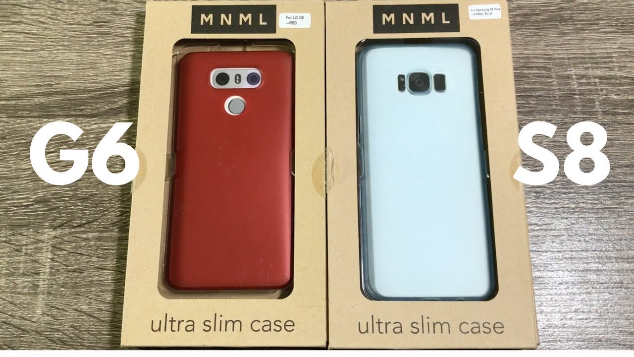 pretty nice 493d4 83583 Samsung Galaxy S8 Plus and LG G6 Ultra Slim Cases by MNML