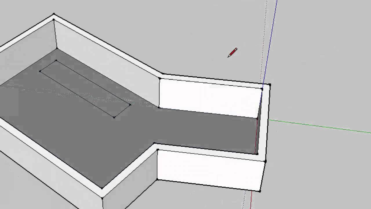 Re-Orienting the Drawing Axis in SketchUp