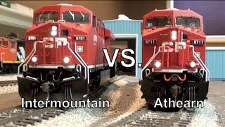 Gevo Tug-O-War - Intermountain vs. Athearn Genesis