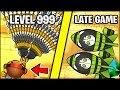 BLOONS X10 TIER MOD VS VERY LATE GAME (100X SHADOW ZOMGS) // Bloons TD Battles (Mods/Hacks)
