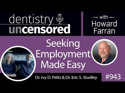 943 Seeking Employment Made Easy with Dr. Ivy D. Peltz & Dr. Eric S. Studley